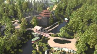 preview picture of video '3D fly-through of Islands at Chester Zoo - Opens Spring 2015'