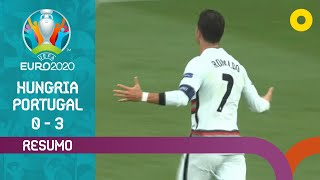 Resumo: Hungria 0-3 Portugal - Euro 2020 | SPORT TV
