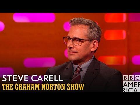 Steve Carell Rocked A Pornstache In His 20's - The Graham Norton Show