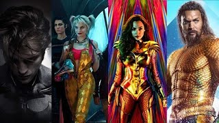 Upcoming DC Movies 2020 2022