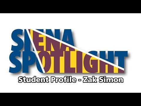Zak Simon - Siena Spotlight