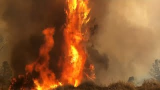 Wildfires Scorch the West as Rain Visits the Drought Stricken Midwest