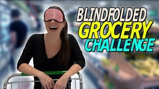 Cooking a MEAL out of EVERYTHING I Touch // Blindfolded Challenge