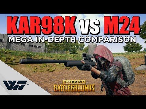 認真分析 Kar98k vs M24 傷害比較