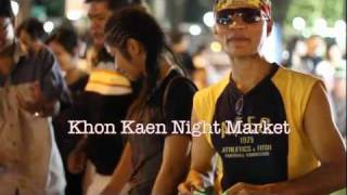 preview picture of video 'Khon Kaen night market'