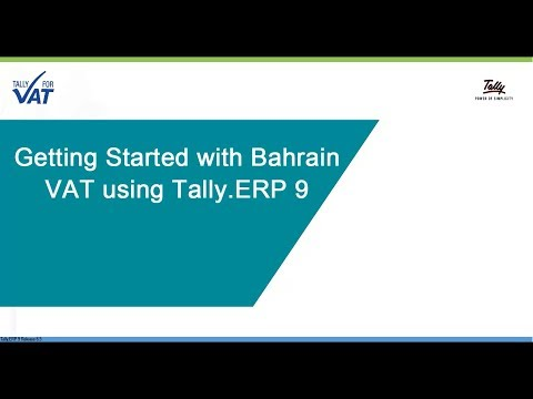 Getting Started with Bahrain VAT
