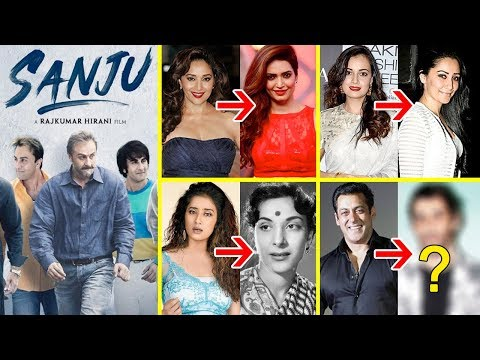 Who is Playing Who In Sanjay Dutt's Biopic SANJU | Sanju Movie Cast