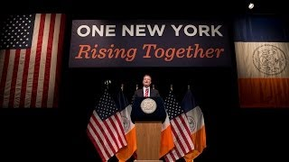 preview picture of video 'Mayor Bill de Blasio Delivers 2014 State of the City Address'