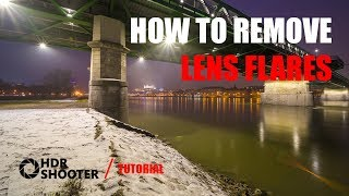 How To Remove Lens Flares