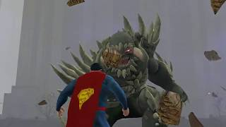 Passing DC Universe Online Doomsday Raid (Expert Tier 9)  - TheRed H00D (controller role)