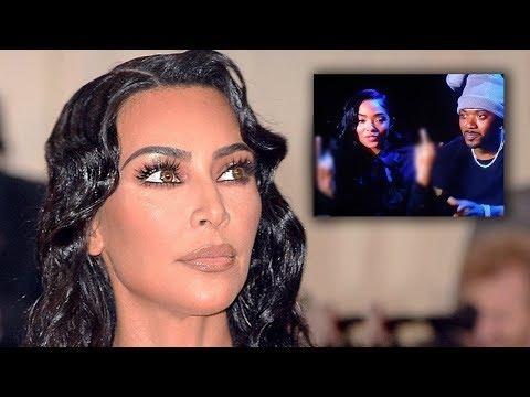 Ray J's Wife Reacts To Kim Kardashian Love Tape Joke During MTV Awards