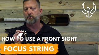 How to Use a Front Sight Focus String to Improve Your Shooting - Navy SEAL Firearms Training