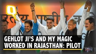 Ashok Gehlot to be New Rajasthan CM, Sachin Pilot His Deputy   The Quint