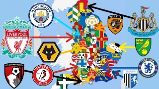 Best Football Club From EVERY County in England