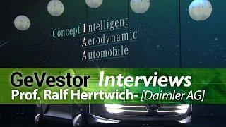 """Mercedes-Entwicklungschef Herrtwich: """"Wir sind gut in Informationstechnologie"""""""