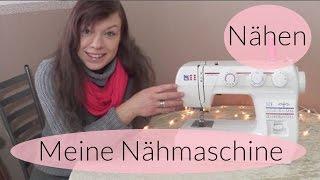 Meine Nähmaschine W6 N 1235/61 I Nähen lernen für Anfänger I Welche kaufen ? Finola 2016 - Deutsch