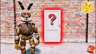 GUESS WHAT'S IN TWISTED SPRINGTRAP'S SECRET ROOM! (GTA 5 Mods FNAF RedHatter)