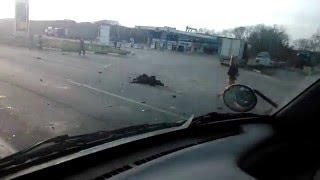 В Крымском районе мотоциклист разбился насмерть в страшном ДТП с двумя иномарками