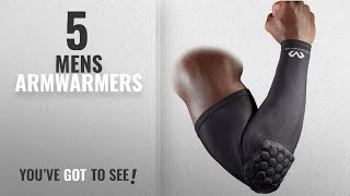 Top 10 Mens Armwarmers [2018]: McDavid 6500 Hexpad Power Shooter Arm Sleeve Black - Large