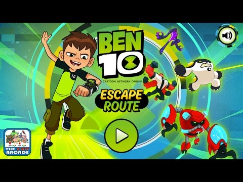 Ben 10: Escape Route - Guide Ben and his Alien Forms to the Exit (Cartoon Network Games)