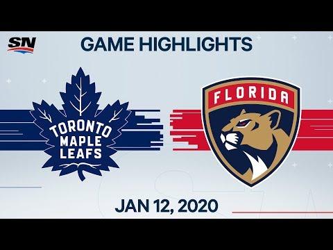 NHL Highlights   Maple Leafs vs. Panthers – Jan. 12, 2020 mp3 yukle - Mahni.Biz