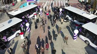 Safranbolu Belediyesi 7 Yeni Otobüsü Hizmete Aldı