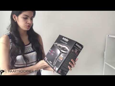 Babyliss 6614E Professioneller AC Haartrockner Unboxing & Praxistest