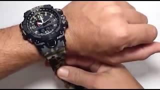 df993a47525 Melhor relógio Militar Camuflado do Mundo! SMAEL 1545