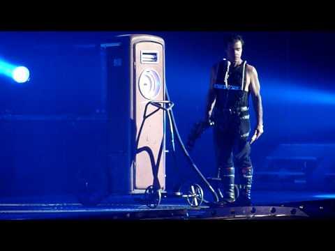 "Rammstein - ""Benzin"" Globe Arena 2010-02-20 HD"