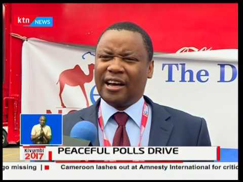 Peaceful polls drive sponsored by Kajiado county and Standard Media Group