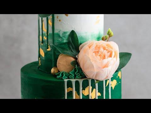 Elegant Birthday Cake Tutorial- Cakes to Impress Her