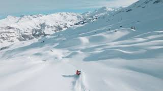 POW day in French Alps - FPV Mini follow