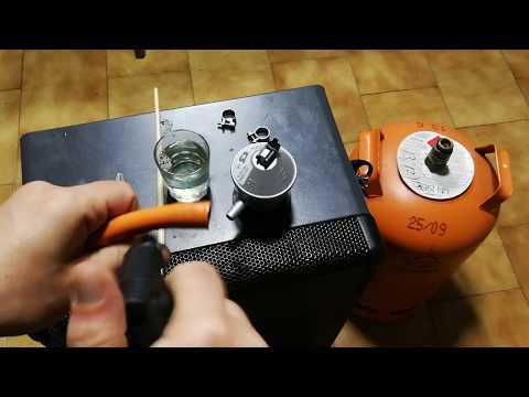 como instalar una estufa de gas