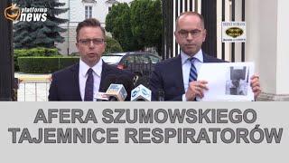 Afera Szumowskiego – tajemnice umowy na respiratory