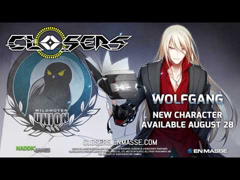Wolfgang Character to Arrive August 28th