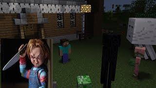 MONSTER SCHOOL: Horror Chucky Challenge - Minecraft Animation