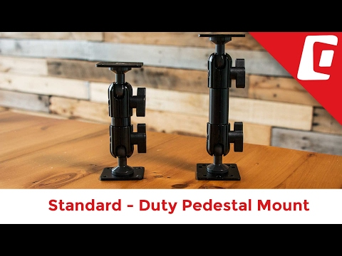 Play Video: 6.5 Inch Universal Pedestal Mount