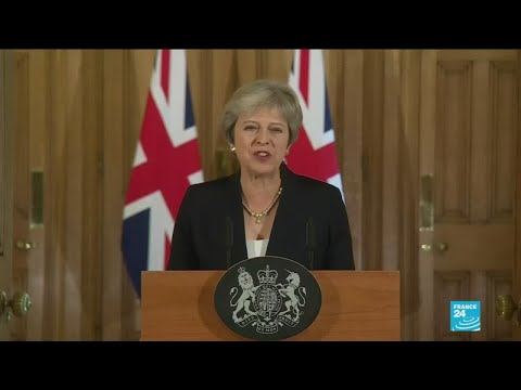 UK's Theresa May says Brexit talks