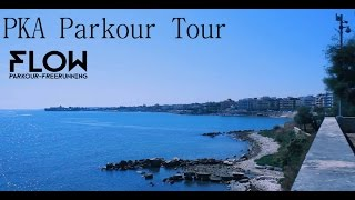 preview picture of video 'PKA Parkour Tour : Trani'
