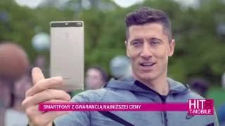 Robert Lewandowski (Lewy) i Tomasz Kot, T-Mobile. Najlepsza sieć!