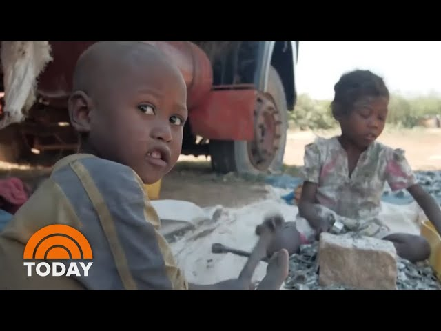 Children Labor For Pennies Mining Mica In Madagascar | TODAY