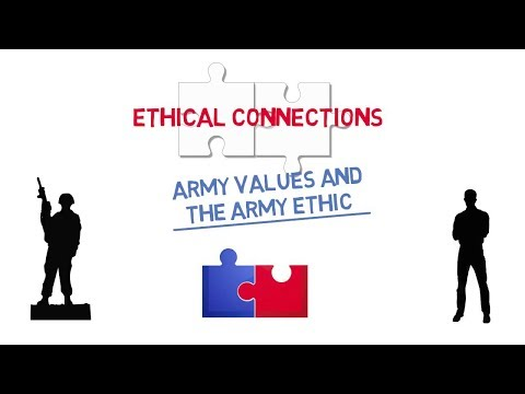 Ethical Connections: Army Values and the Army Ethic Screenshot