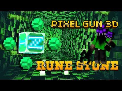 Pixel Gun 3D - Rune Stone Gameplay New Weapon in Mage Mode