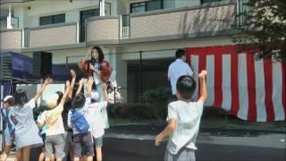 ゴリけんさん2015.09.13第1回ふれあい秋祭り須玖商工店連合会