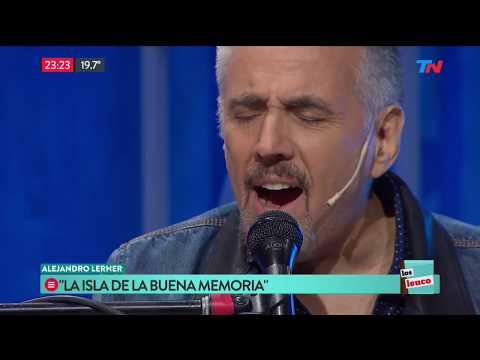 """Alejandro Lerner y """"La isla de la buena memoria"""" en Los Leuco"""