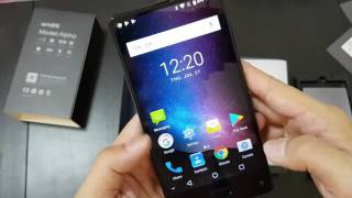Maze Alpha Unboxing+ Hands On: another bezel less phone