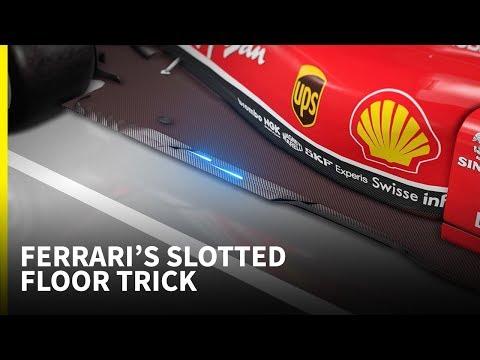 How new floor slots helped Ferrari win the British GP - Tech Talk