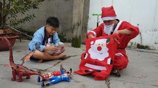 Trò Chơi Bé Pin Giải Trí Noel ❤ ChiChi ToysReview TV ❤ Đồ Chơi Trẻ Em Baby Doli Fun Song Bài Hát Vần