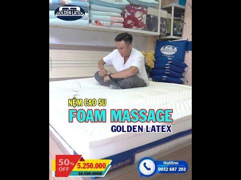 Nệm Massage 7 Vùng Cơ Thể