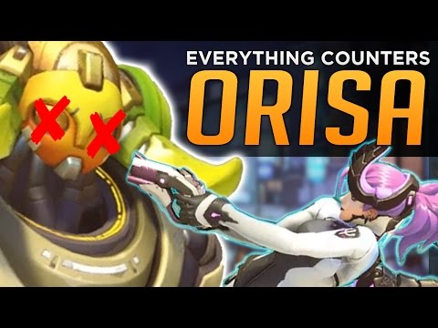 Overwatch: EVERYTHING Counters Orisa